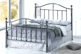 metal bed frame king – lasierrita.co