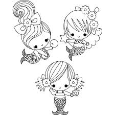 Small Picture Baby mermaid coloring pages for kids ColoringStar