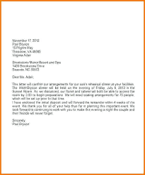 Block Letter Sample Formal Business Letters Format For Modified Block Letter