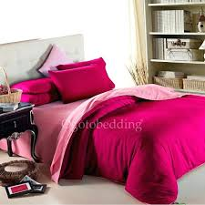 country solid cotton full size pink comforter sets 1 twin set