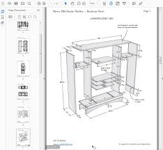 drawing furniture plans. the drawings in my books and printed plans i sell are almost entirely u201cmechanicalu201d orthographic projection that is traditional way drawing furniture