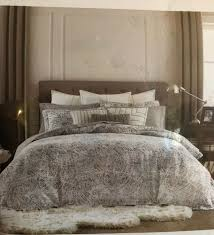 details about tommy hilfiger full queen duvet cover set oak bluff paisley white blue 250