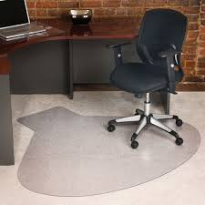 chair mat with lip. Desk Chair Mat Enchanting Office Rectangle With Lip Shape Clear
