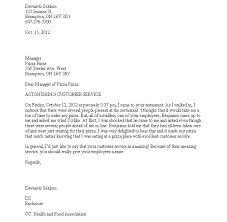 Complaint Letter Poor Customer Service Sample Just Template Bad