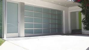 flat panel garage doorFlat Panel Glass Acrylic Flush Mounted Garage Doors Christchurch