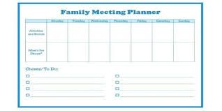 Agenda For Meetings Format Sample Family Meeting Agenda Format Assignment Point