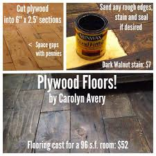 Plywood Floors I Installed In My 8x12 Cabin. Such A Cheap Floor And I Love