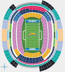 Arrowhead Stadium Concert Seating Chart Arrowhead Stadium Seating Chart Chargers La Stadium Pricing