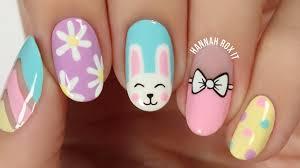 5 cute spring easter nail art ideas