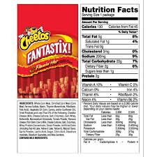 more views nutrition facts