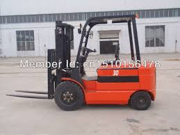 Battery Driving Forklift Truck With Side Shifter In Forklifts From