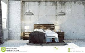 industrial look bedroom. Simple Industrial Download 3d Bedroom In Industrial Look Stock Illustration  Of  Artwork Bedroom 66960142 With T