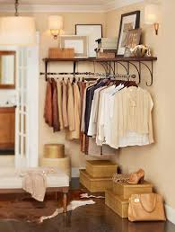 Pottery Barn Wall Shelves New York Wall Mount Wood Shelf With Metal Clothes Rod 4 Rustic