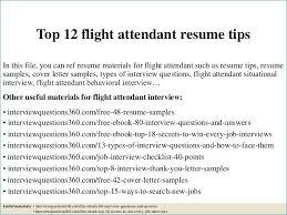 Flight Attendant Resume Templates Interesting Resume For Flight Attendant Best Of Best Flight Attendant Resume