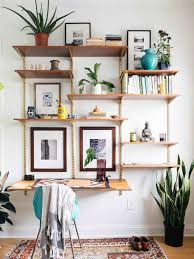 office wall shelving units. 19 Mid-Century Modern DIYs That Will Save You Tons Of Money Office Wall Shelving Units A