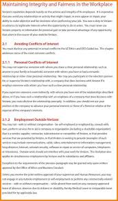 Company Code Of Ethics Template | Write Happy Ending