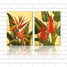shop popular tropical flower art from china aliexpress on tropical wall art sets with home goods wall decorations ideas for contemporary home goodhomez