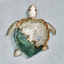 metal sea turtle wall art