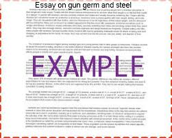 essay on gun germ and steel homework writing service essay on gun germ and steel guns germs and steel essay 100% non