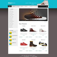 Free Dreamweaver Website Templates Template 24 Shoes 10