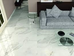 high gloss white grey floor tiles living room tiles