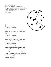 You can select any chord for yourself. C Is For Cookie An Illustrated Song That S Good Enough For Me Sing Books With Emily The Blog
