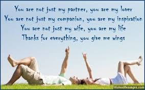 Thank You Messages For Wife Wishesmessages Com