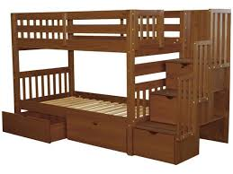 Beds with drawers Small Stairway Twin Over Twin Bunk Bed Expresso With Drawers Bunk Bed King Bunk Beds Twin Stairway Expresso Drawers 635