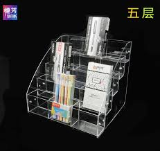 How To Make A Pen Display Stand Cool Gel Pen Transparent Storage Box Stationery Pencil Pen Display Stand