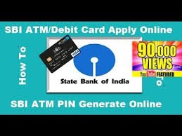 get atm card of sbi activate and