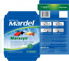 Mardel Fish Disease Chart Sentry Aq Mardel Maracyn Sergeants Pet Care Products Inc