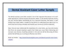 sample cover letter dental assistant dental assistant cover letter templates
