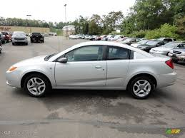 Silver Nickel 2004 Saturn ION 3 Quad Coupe Exterior Photo ...
