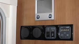 Caravan Light Switch Buccaneer Schooner Alde Control Panel And Underneath From