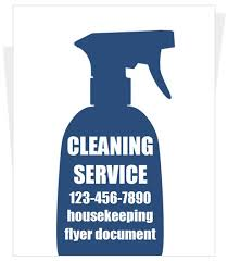 Housekeeping Flyers Templates Free Sample Cleaning Flyers House Cleaning Flyer Templates Yourweek