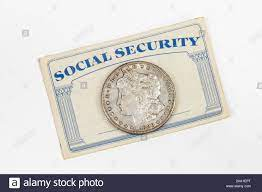 Old Social Security card with antique ...