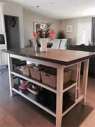 Diy Kitchen Island With Stainless Steel Top Ikea Stenstorp Kitchen