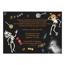 Halloween Invitations Cards Halloween Party Invitation Halloween Dance Invite Zazzle