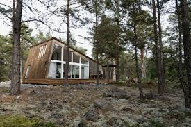 Contemporary Cabins Sweden Small House Bliss