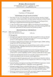 9 10 Good Resume Summary Samples Archiefsuriname Com