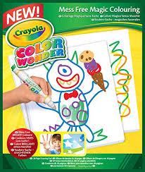 Amazoncom Crayola Color Wonder Mess Free Coloring Pad Refill