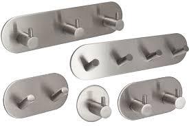 self adhesive coat hooks. Fine Self Self Adhesive Stainless Steel Coat Hooks Intended L