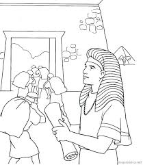 Joseph Coat Of Many Colors Free Coloring Page And His Coat Coloring