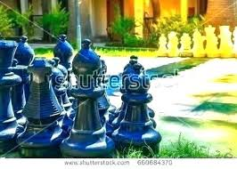 oversized chess pieces set home decor wooden jumbo outdoor