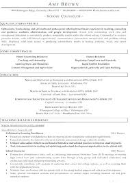 Mental Health Counseling Resume Examples Resumes Summary Cover