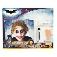 image is loading the dark knight batman joker makeup wig costume