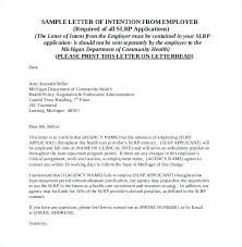 Letter Of Intention Template A Letter Of Intent Sample Or