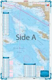 Southern California And Baja Offshore Fish And Dive Chart 88f