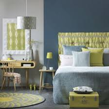 blue and green bedroom. How To Declutter Your Warbrobe - 5 Steps. Retro Blue Bedroom And Green