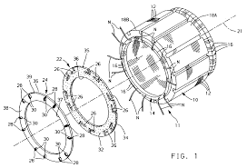 Neutral connection for wire wound stator patent 0717488